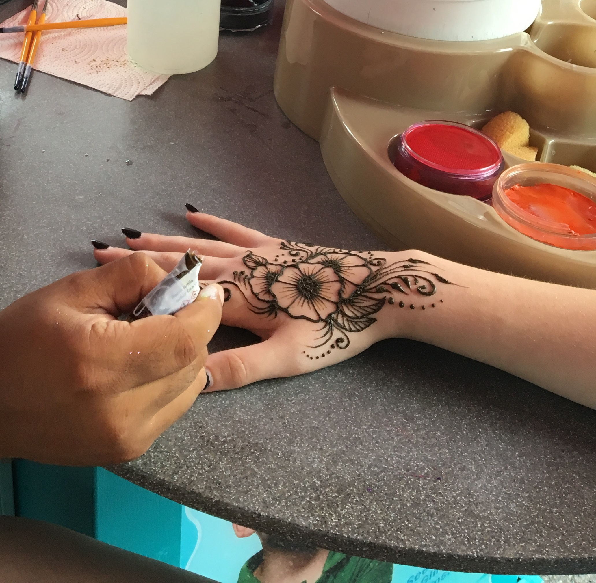 """80332ac67 Our Henna is mixed exclusively for Kaman's Art Shoppes, and is safe and all  natural. It contains no PPD """"black henna"""" or any man-made chemicals."""